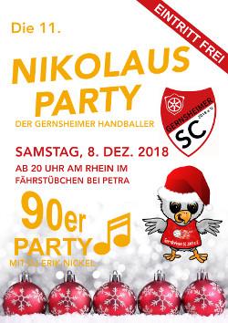 08.12.2018 - 11. Nikolausparty der Gernsheimer Handballer